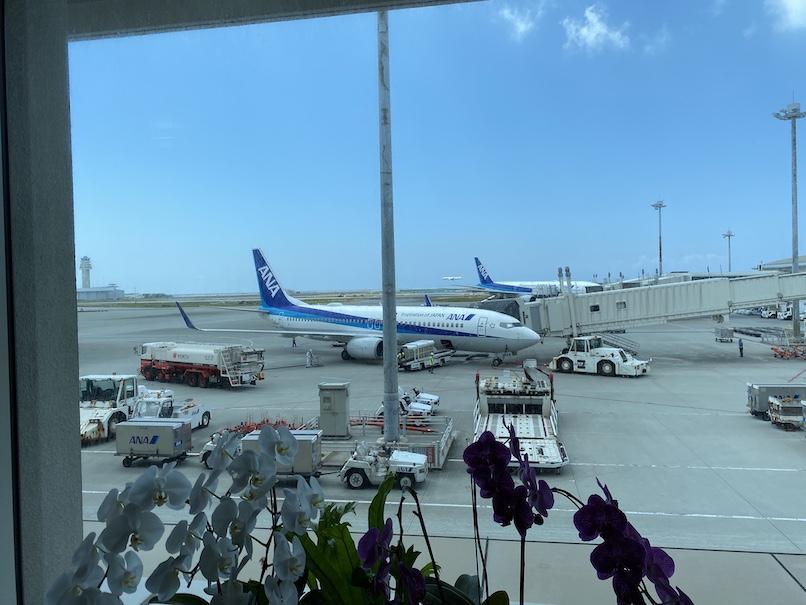 ANAの飛行機のイメージ