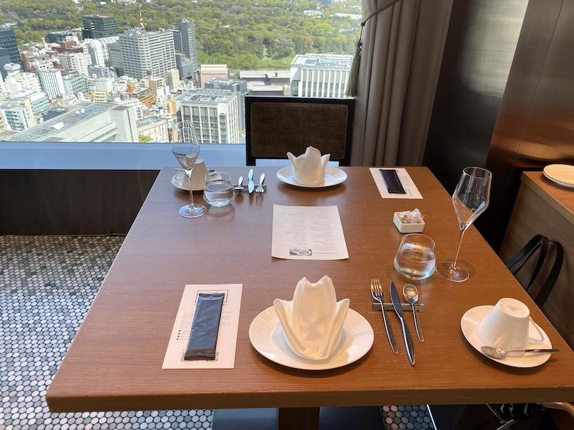 オアシスガーデン:テーブル