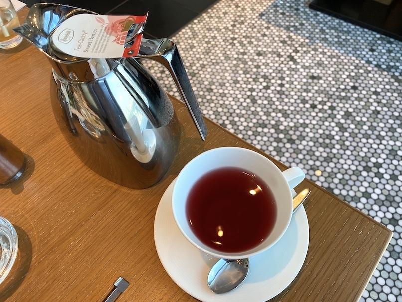 アフタヌーンティー:紅茶(ホット)