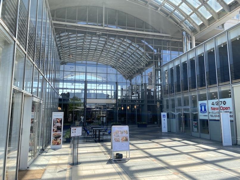 グランドニッコー東京 台場:ホテルのエントランス