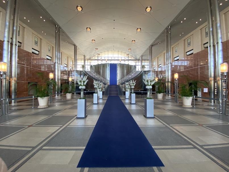 グランドニッコー東京 台場:ホテルのアクアリウム