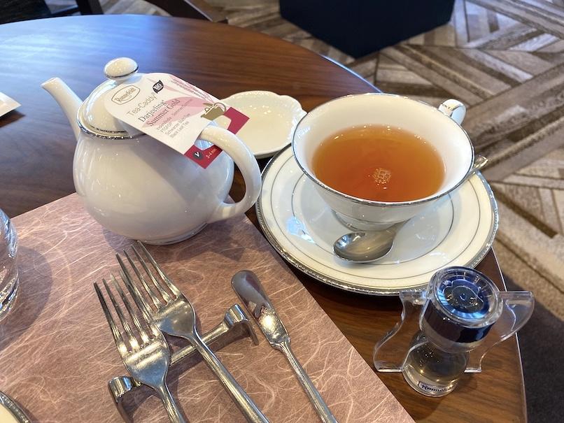 グランドニッコー東京 台場のアフタヌーンティー:紅茶(ホット)