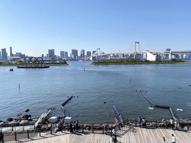 グランドニッコー東京 台場:お台場の眺望