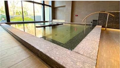ザ・プリンス軽井沢:モミジホットスプリングの内風呂