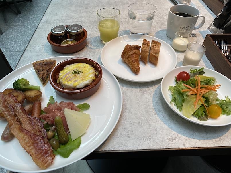 ACホテル東京銀座:朝食(洋食セット)