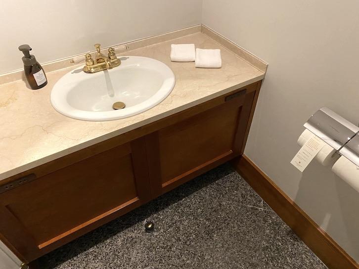 旧軽井沢KIKYOキュリオ・コレクションbyヒルトン:客室(手洗い)