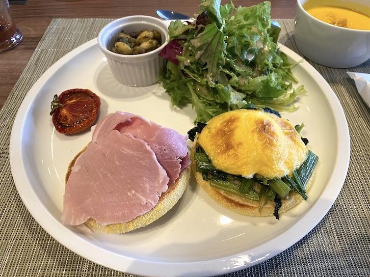 旧軽井沢KIKYOキュリオ・コレクションbyヒルトンの朝食:洋食3