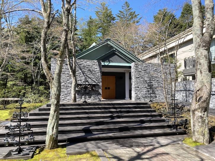 旧軽井沢KIKYOキュリオ・コレクションbyヒルトン:中庭散策3