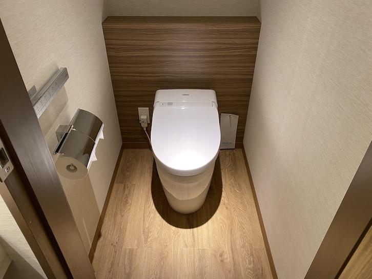 軽井沢マリオットホテル:トイレ(全体像)