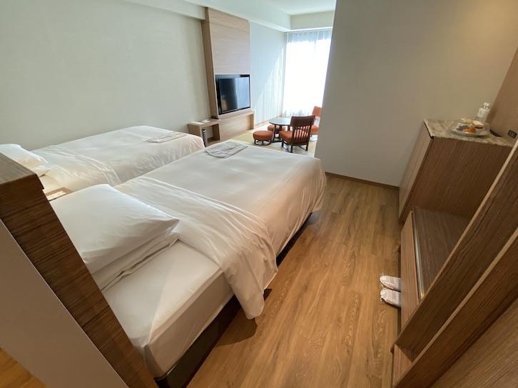 軽井沢マリオットホテル:客室(寝室)