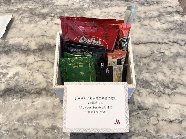 軽井沢マリオットホテル:ミニバー(ティーセット)