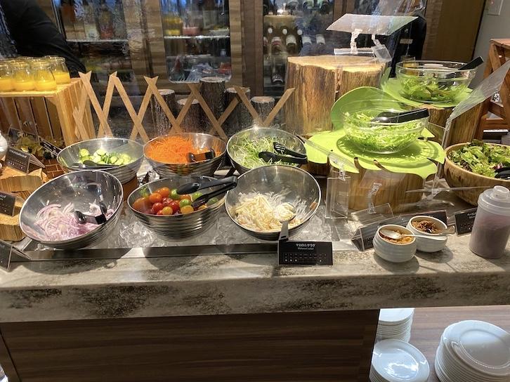軽井沢マリオットホテルの朝食:ビュッフェの提供内容(フード1)