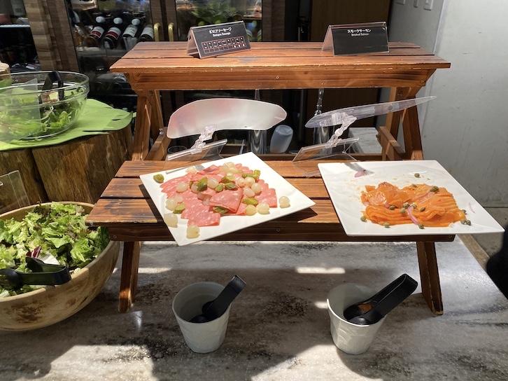 軽井沢マリオットホテルの朝食:ビュッフェの提供内容(フード2)