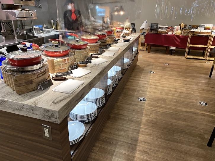 軽井沢マリオットホテルの朝食:ビュッフェの提供内容(フード3)