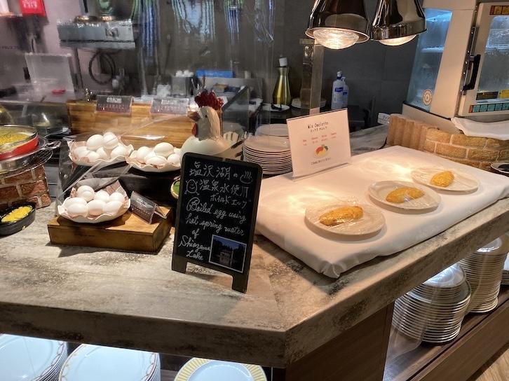 軽井沢マリオットホテルの朝食:ビュッフェの提供内容(フード4)