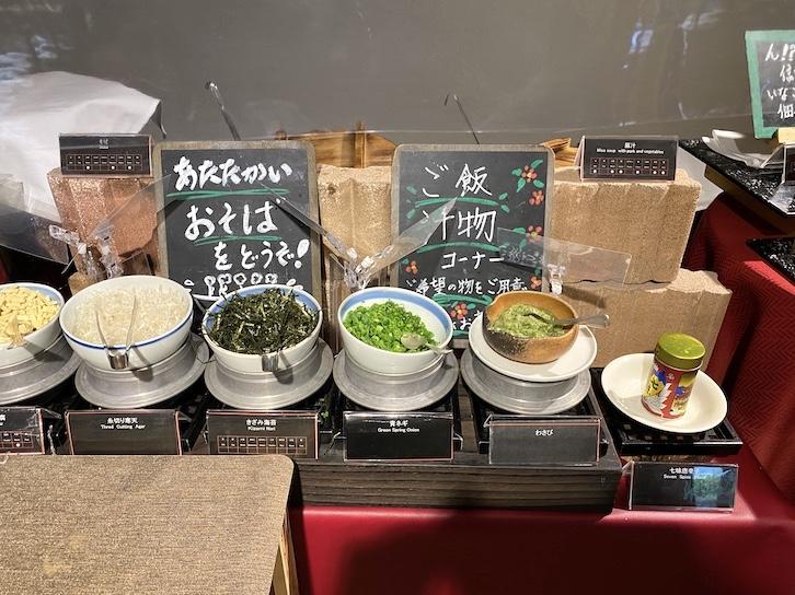 軽井沢マリオットホテルの朝食:ビュッフェの提供内容(フード8)
