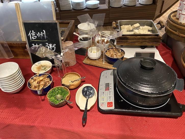 軽井沢マリオットホテルの朝食:ビュッフェの提供内容(フード11)