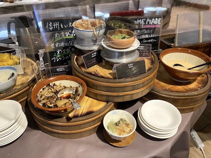 軽井沢マリオットホテルの朝食:ビュッフェの提供内容(フード10)
