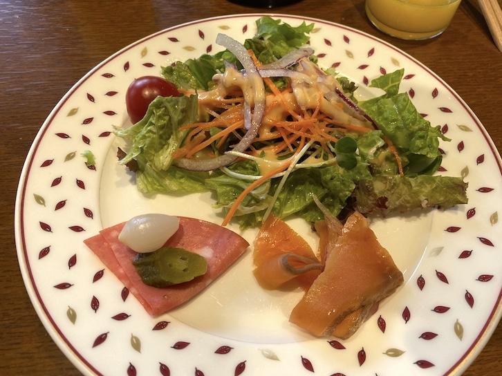 軽井沢マリオットホテルの朝食:ビュッフェでいただいたもの(1)
