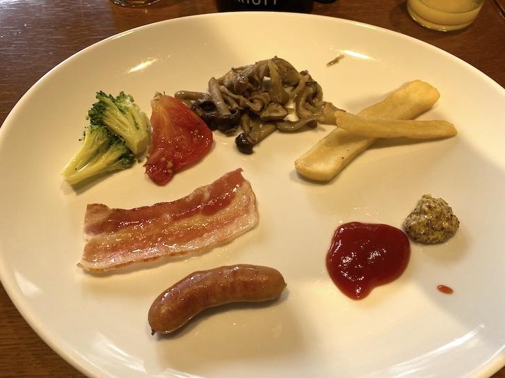 軽井沢マリオットホテルの朝食:ビュッフェでいただいたもの(3)