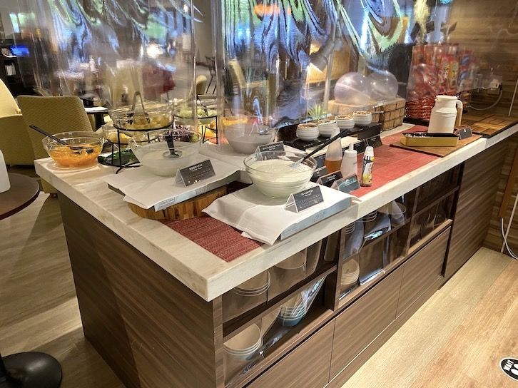 軽井沢マリオットホテルの朝食:ビュッフェの提供内容(フード15)