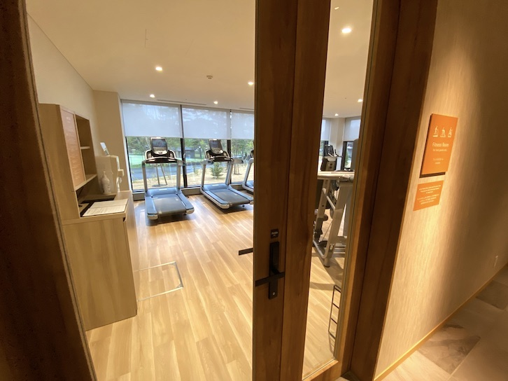 ザ・プリンス軽井沢:モミジホットスプリングのフィットネスルーム(外観)