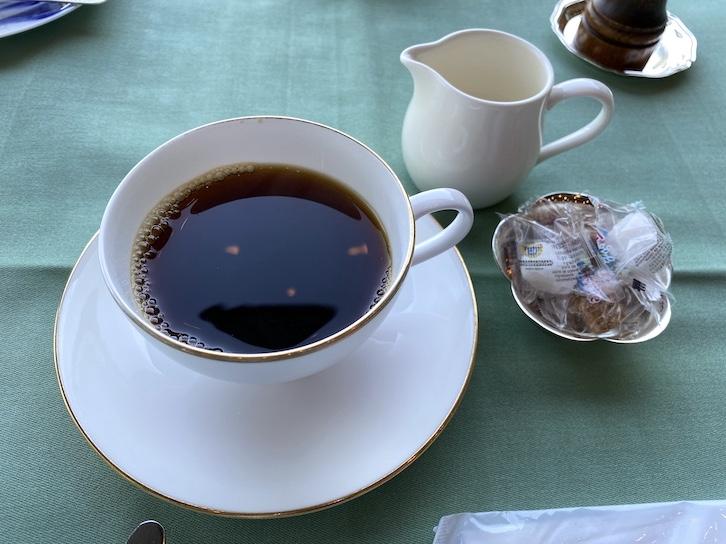 ザ・プリンス軽井沢の朝食:コーヒー