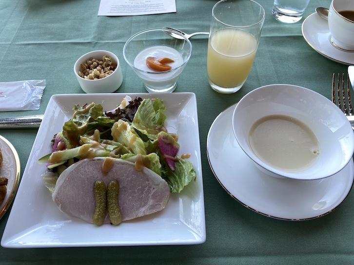ザ・プリンス軽井沢の朝食:サラダ&スープ