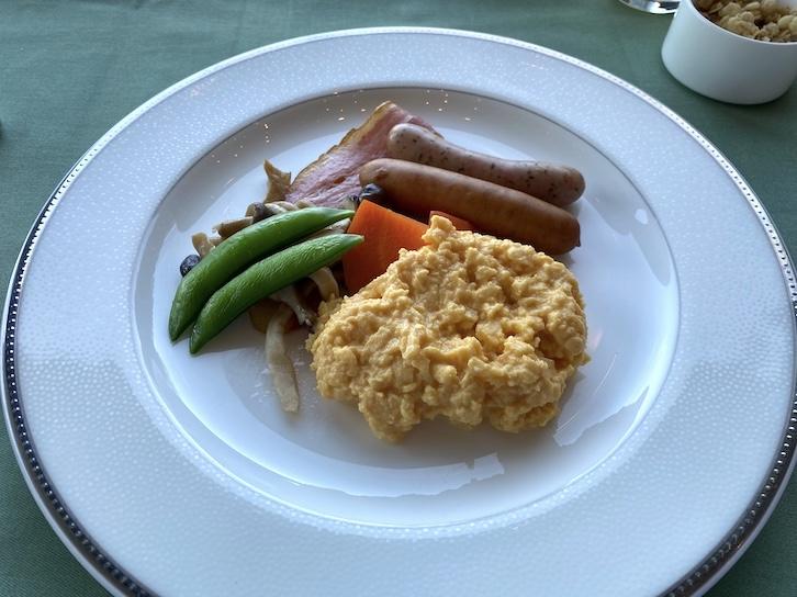 ザ・プリンス軽井沢の朝食:メイン(スクランブルエッグ)