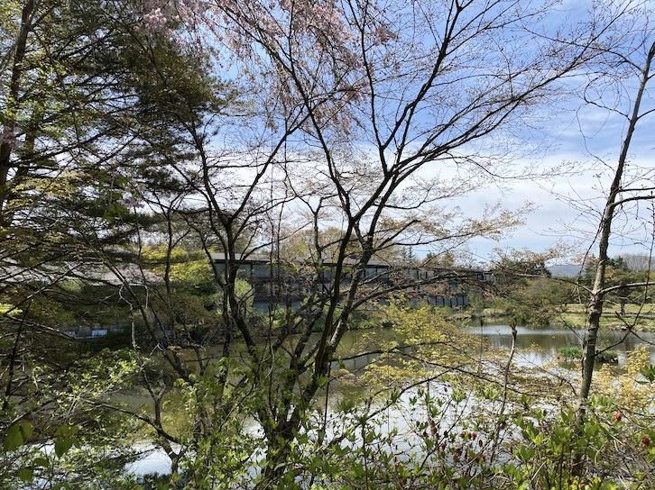 ザ・プリンス軽井沢:敷地内の景観