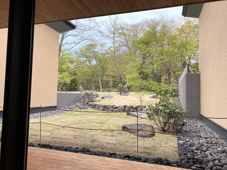 ザ・プリンス軽井沢:モミジホットスプリングからの眺望