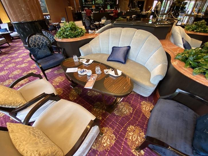 ウェスティンホテル東京「The Lounge(ザ・ラウンジ)」:ソファー席