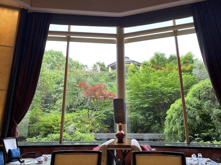 ウェスティンホテル東京「The Lounge(ザ・ラウンジ)」:眺望
