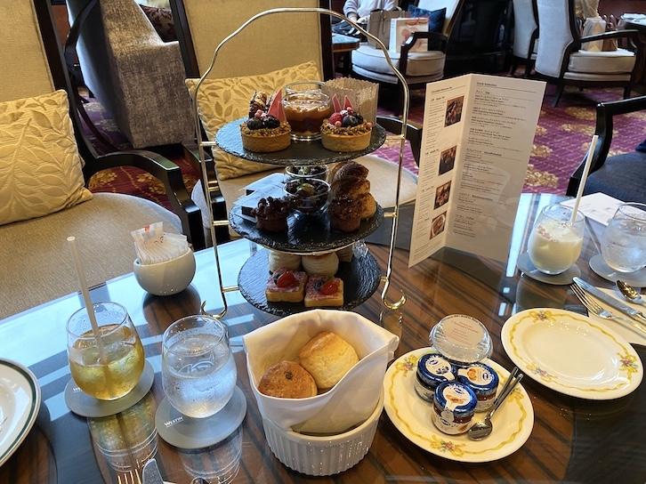 ウェスティンホテル東京のアフタヌーンティー:フード(全体像)