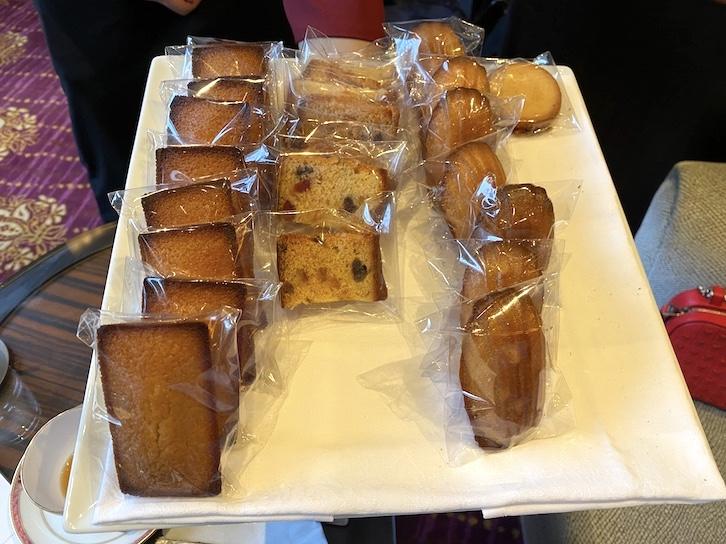 ウェスティンホテル東京のアフタヌーンティー:フード(焼き菓子1)