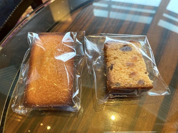 ウェスティンホテル東京のアフタヌーンティー:フード(焼き菓子2)