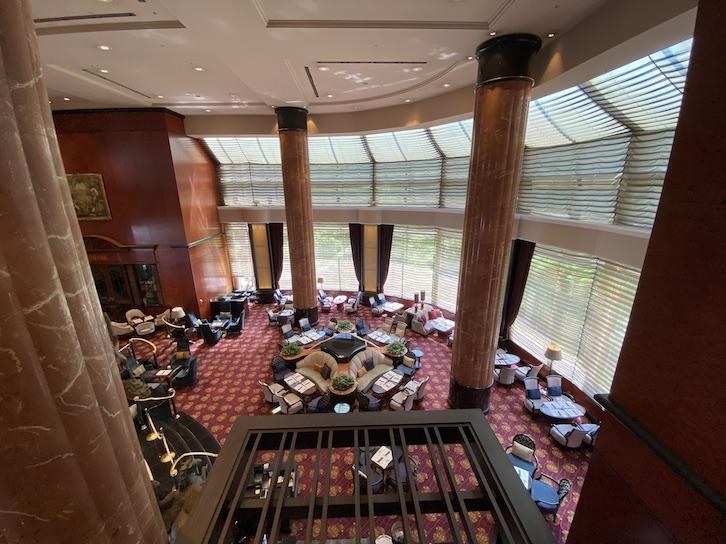 ウェスティンホテル東京「The Lounge(ザ・ラウンジ)」:全体像2