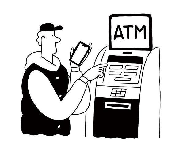 みんなの銀行:ATM利用イメージ