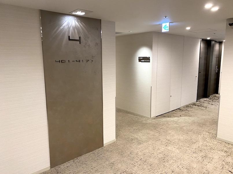 レムプラス銀座:内廊下(1)