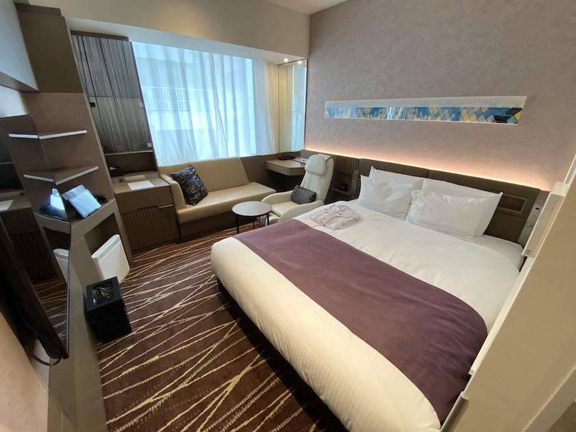 レムプラス銀座の客室:寝室
