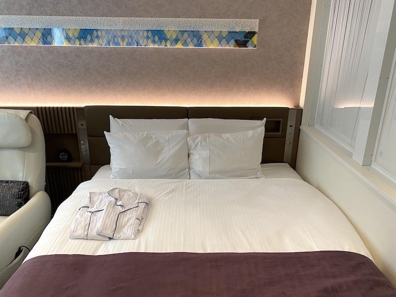 レムプラス銀座の客室:ベッド