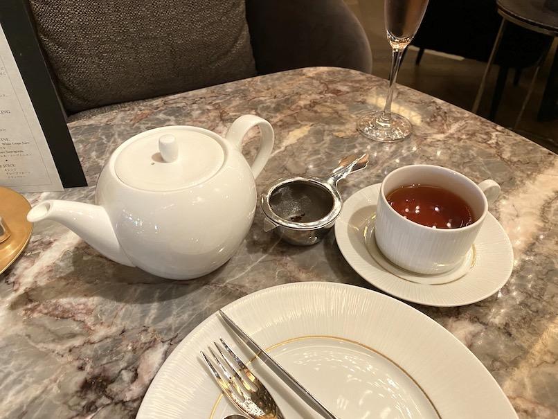 インターコンチネンタル東京ベイのアフタヌーンティー:ドリンク(紅茶)