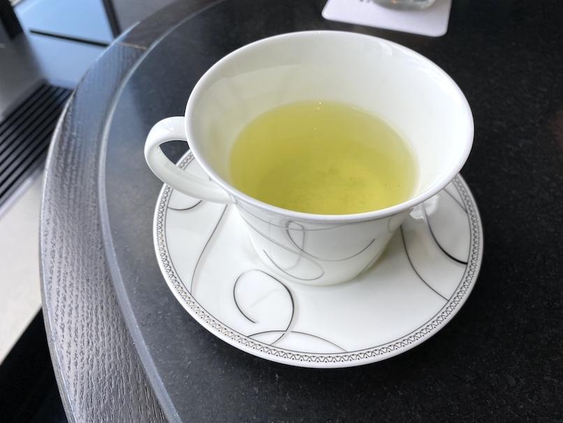 品川プリンスホテルのアフタヌーンティー:ドリンク(煎茶)