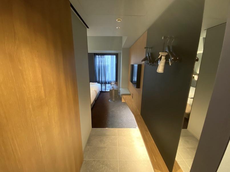 ザロイヤルパークキャンバス銀座8の客室:エントランス