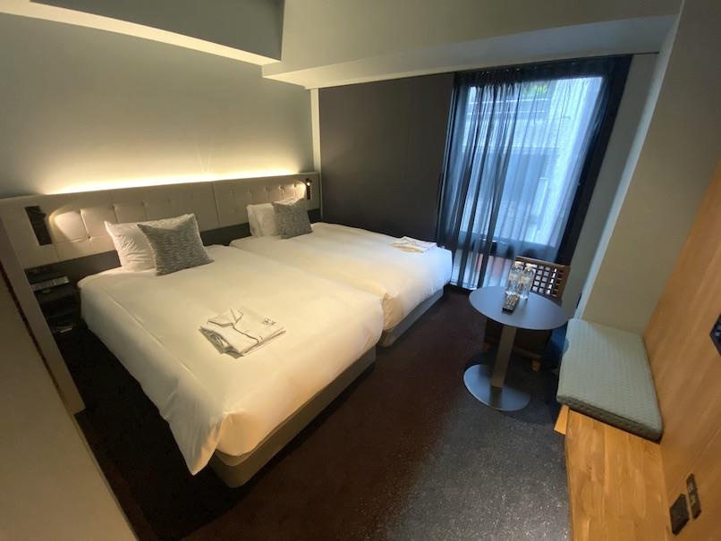 ザロイヤルパークキャンバス銀座8の客室:寝室