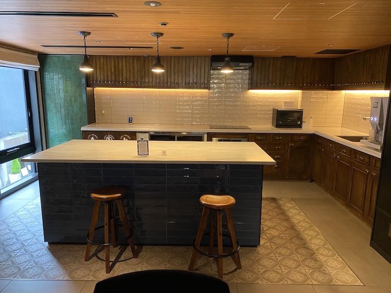 ザロイヤルパークキャンバス銀座8の供用施設:キッチン