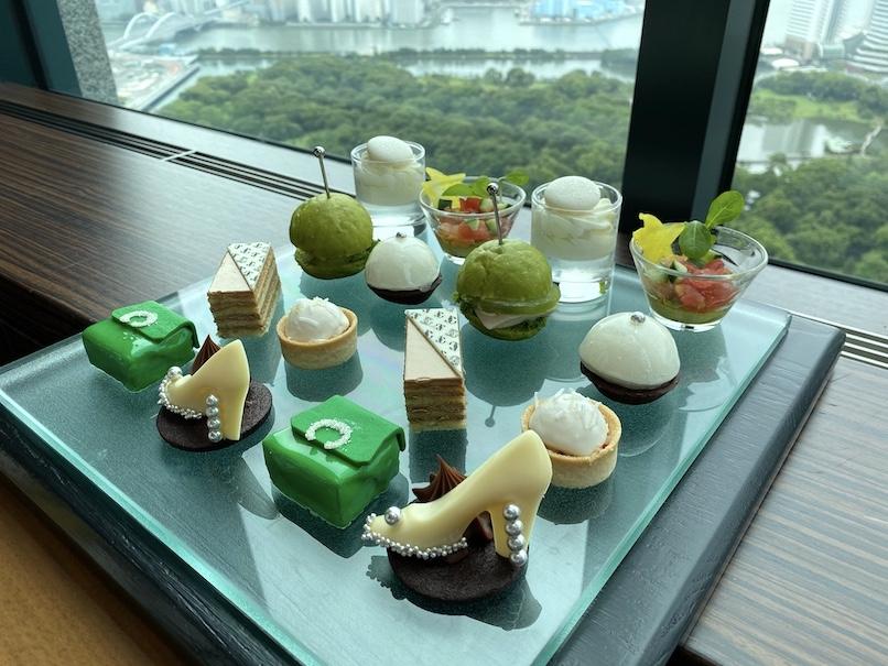 コンラッド東京のアフタヌーンティーをブログレポート(Top画像)