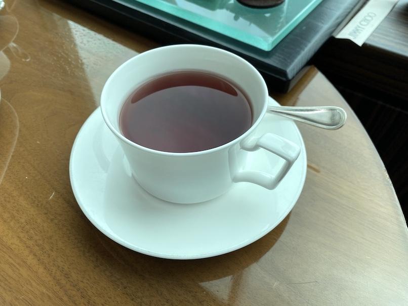コンラッド東京「アフタヌーンティー」:ドリンク(紅茶)