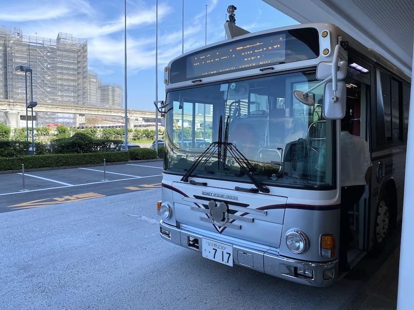 グランドニッコー東京ベイ舞浜 :1階バス乗り場