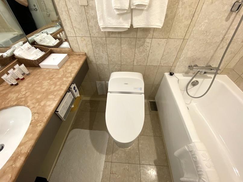 グランドニッコー東京ベイ舞浜の客室:バスルーム(全体像)